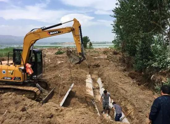 """中央环保督察组:陕西渭南政企""""合谋""""违规上马旅游项目致3000亩湿地被破坏.png"""