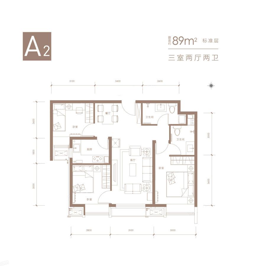 合肥赶集网租房_中铁德园a2