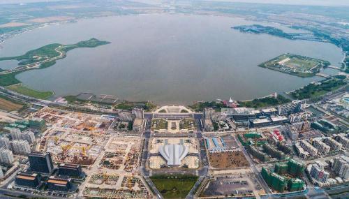 上海自贸区临港新片区累进新签约产业项目120个