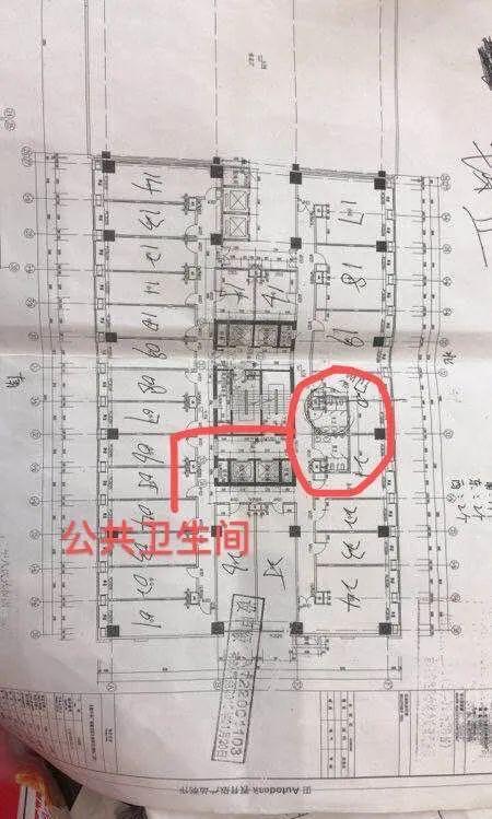 公共卫生间被改成公寓卖 长春中东港逆天操作