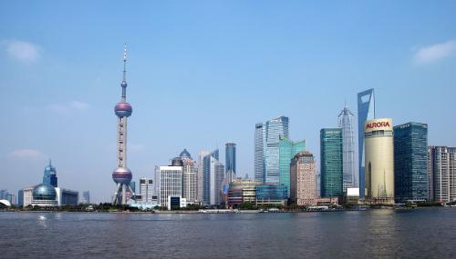 上海第八高楼明天广场再