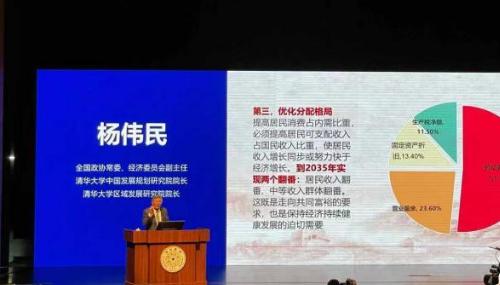 杨伟民:扩大内需需要推动壮大中等收入群体