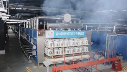 148米隧道窑投产、年产智能马桶70万套,碧桂园猛攻智能卫浴