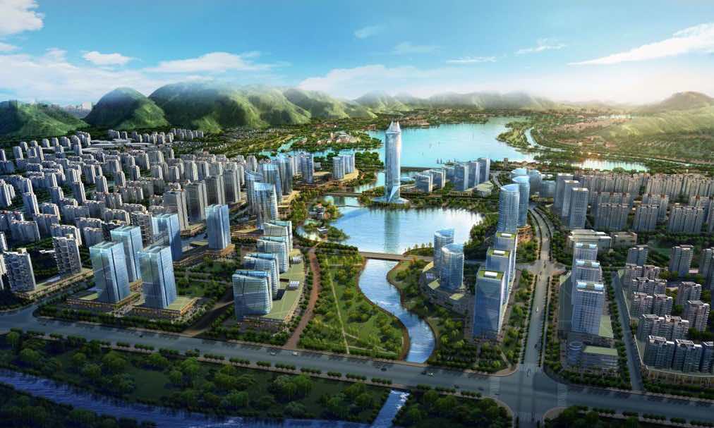 """向湖发展?台州正式迈向""""飞龙湖""""时代"""
